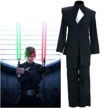 Star Wars Costume Jedi Luke Skywalker Cosplay Costume Custom Made