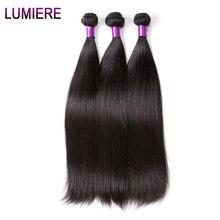 Lumiere Hair Brazilian Straight Hair Weave Bundles 100 Human Hair Bundles Natural Non Remy Hair Extensions