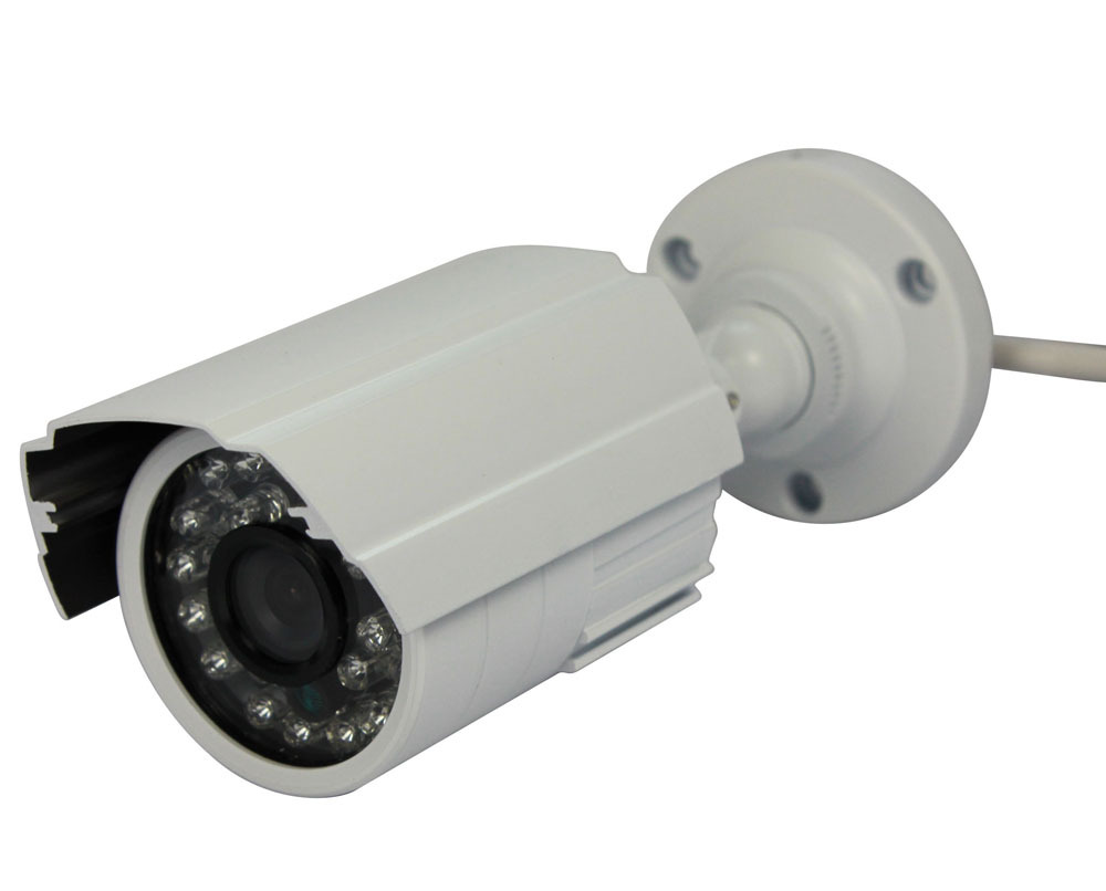 CCTV Security Camera Outdoor Bullet 800TVL 1/3 Color IR-CUT Filter CMOS 3.6mm Lens 24IR Leds Waterproof Day/night Video Camera free shipping 2015 newest 1 3 color cmos 600tvl outdoor indoor waterproof ir bullet camera cctv camera security camera