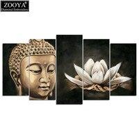 Zhui Star 5d Diy Diamond Embroidery Buddha Lotus Diamond Painting Cross Stitch Rhinestone Mosaic Multi Picture