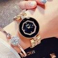 Новые G & D женские часы люксовый бренд Золотые бриллианты уникальные женские часы модные повседневные женские кварцевые наручные часы reloj ...