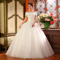 Rustic Lace Bohemian Wedding Dresses Strapless Off Shoulder A line Full Length Vintage Beach Boho Bridal Wedding Gowns