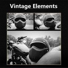 Affordable Motorcycle helmet modular helmet,racing helmet 3/4 Open Face Casco Moto Helmet DOT Capacete matte black мото шлем icon alliance dark helmet matte