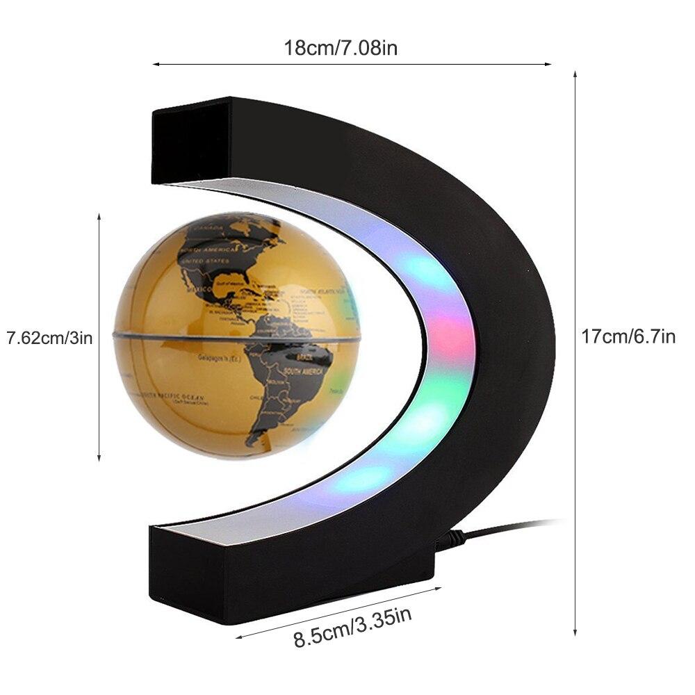 donwei levitacao magnetica globo antigravidade led night 02