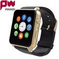 PINWEI Водонепроницаемый Smart Watch Bluetooth Smartwatch СИМ Камера NFC Чсс Умный Часы Наручные Часы Для iPhone Android