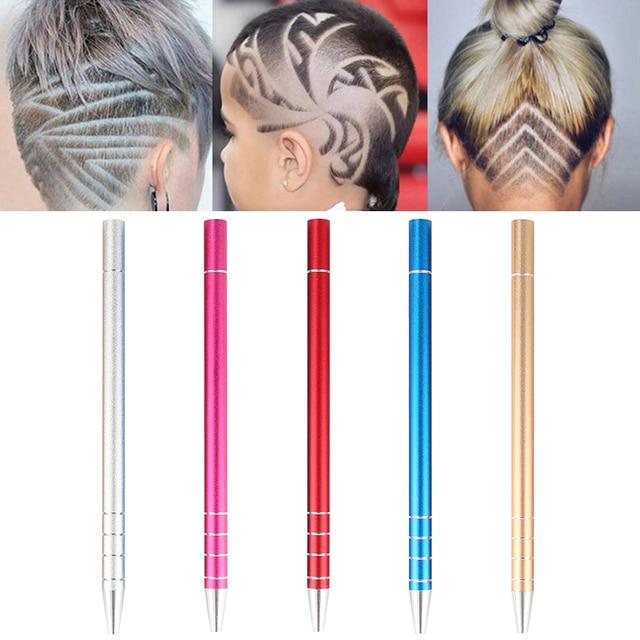 Professional Hair Design Shaver Hair Styling Magic Engraved Razor + 10 Blades Use For Beard/Hair/Eyebrow 5 Colors Optional