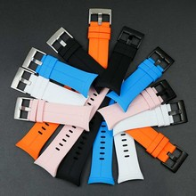 Men's silicone strap for SUUNTO Spartan cool running waterproof ladies sports outdoor rubber strap buckle