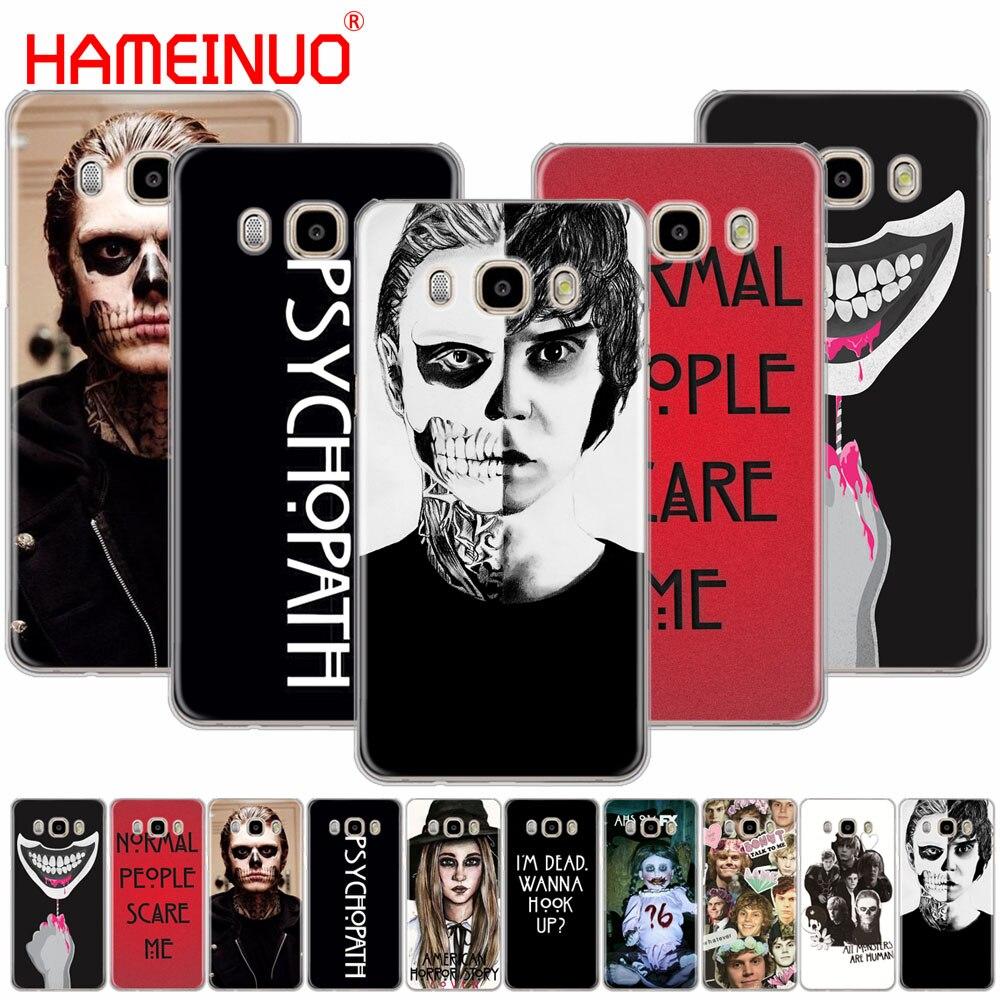 Hameinuo психопат Эван Питерс ужас крышка телефона чехол для Samsung Galaxy J1 J2 J3 J5 J7 мини Ace 2016 2015 премьер