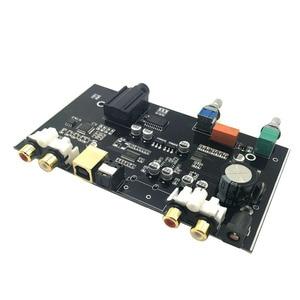 Image 2 - PCM5100 MS8416 Optical USB input NE5532 OP DAC Board 24bit 192K with Audio Volume Control DAC Board DC 12V B9 007