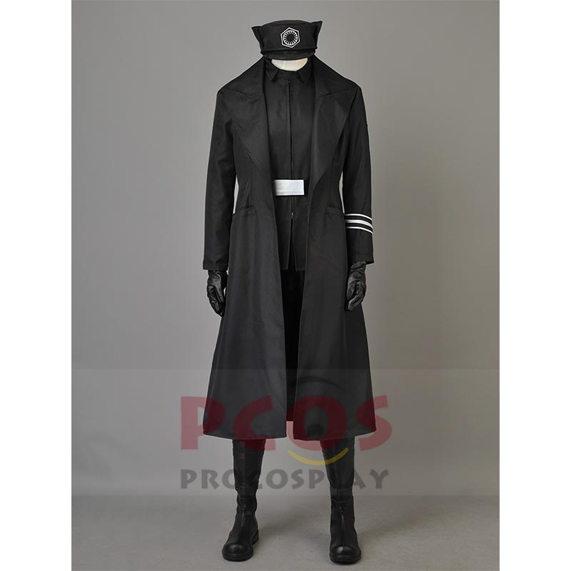 Star Wars 8 :The Last Jedi First Order Armitage Hux Cosplay Costume New order Starkiller Base General Hux Black costume mp003852