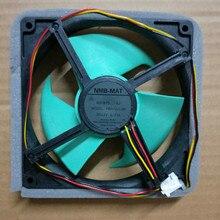 ใหม่ Original NMB MAT FBA12J12M 0.23A DC 12 V เครื่องทำความเย็นพัดลมตู้เย็นตู้เย็น Cooling พัดลม