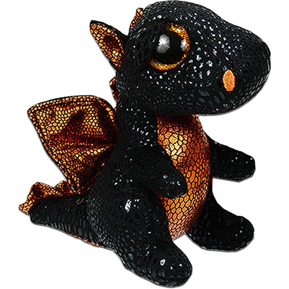Ty Beanie Boos 6'' 15cm Merlin The Dragon Plush Regular Soft Big-eyed Stuffed Animal Collection Doll Toy