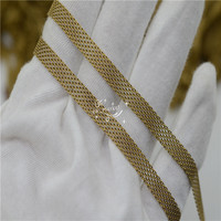 3mm 4mm 5mm 6mm copper link mesh chain soldering jewelry making accessories 100M