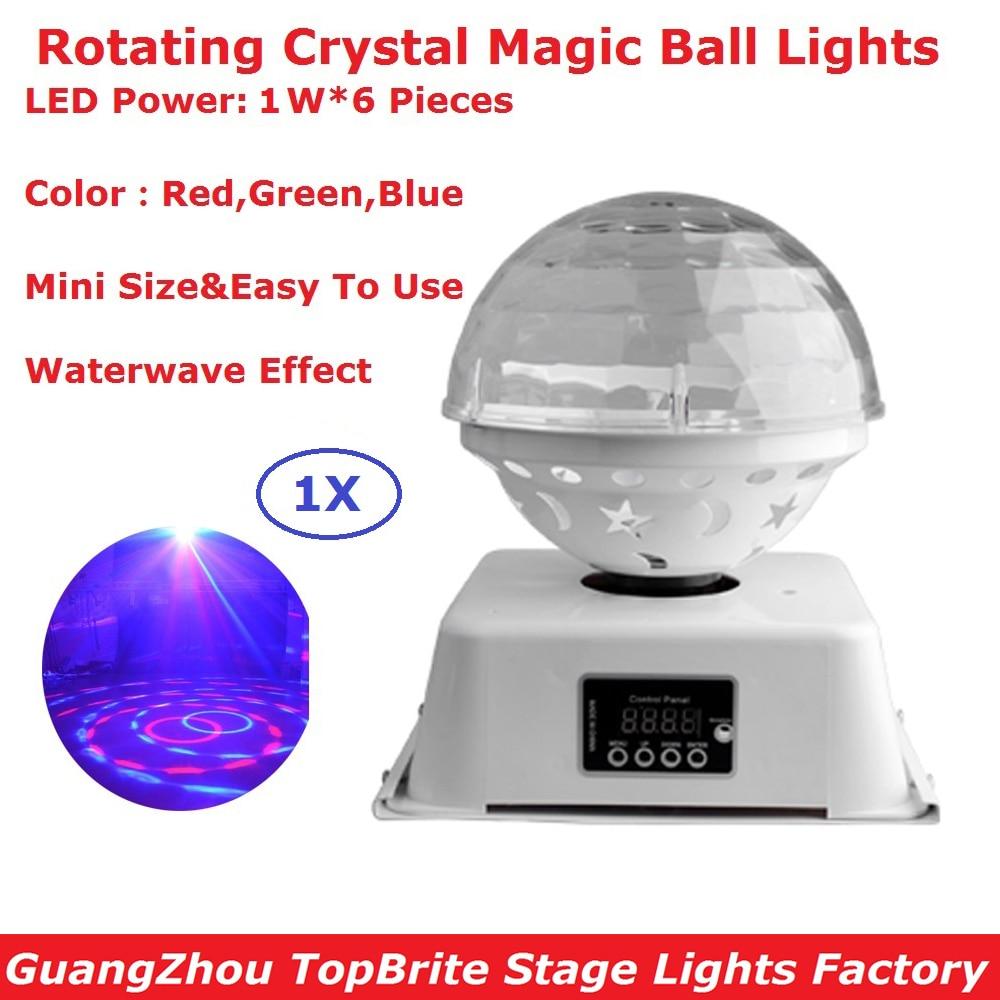 1 Pcs/Lot Mini RGB 3IN1 LED cristal magique boule effet de scène éclairage Disco lampe fête discothèque DJ Bar lumières nouveau Design