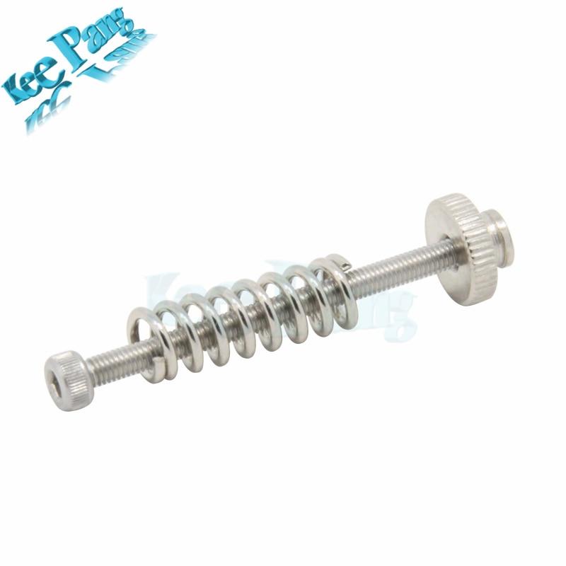 1 Satz 3d Drucker M3 Schraube Nivellierung Frühling Kit Nivellierung Komponente Suite Nivellierung Knob Kit Für 3d Drucker Zubehör