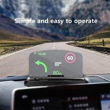 Новинка! Беспроводное зарядное устройство HUD Дисплей держатель мобильного телефона gps навигация автомобильный скоростной проектор Автомобильная Подставка для зарядки