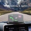 Новинка! Беспроводное зарядное устройство HUD держатель дисплея для мобильного телефона GPS навигация автомобильный скоростной проектор Авт...