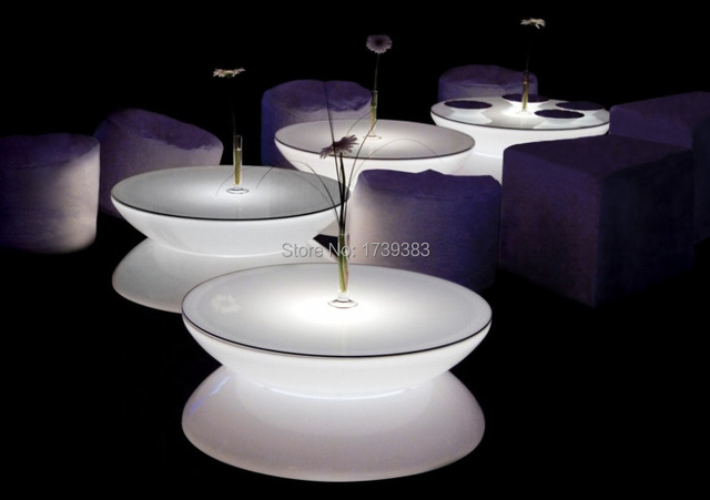 Light and Form in Perfect Harmony Led Illuminated Furniture,Lounge LED,led coffee table rechargeable for Bars/Christmas/events