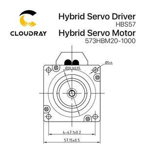 Image 5 - Cloudray Leadshine HBS57 + 573HBM20 1000 HBS507 nema23 3 fase híbrida Servo de ciclo cerrado