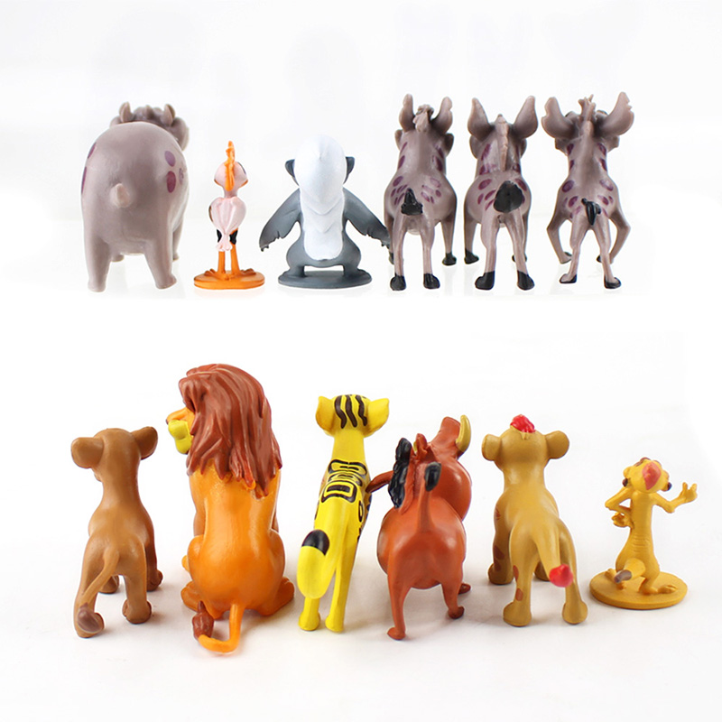 Image 5 - Cartoon The Lion Guard King Kion Simba PVC Action Figures Bunga Beshte Fuli Ono Figurines Doll Kids Toys for Children Boys-in Action & Toy Figures from Toys & Hobbies