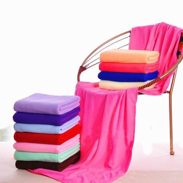 14 Color 70cm*140cm New Microfiber Bath Towel High Quality Quick-Dry Bath Towels Travel Sports Swiming Beach Towel