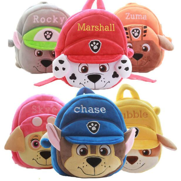 Kindergarten Cartoon Plush <font><b>School</b></font> Bags <font><b>Backpacks</b></font> Baby <font><b>Kids</b></font> Cute Toys Plush <font><b>Backpacks</b></font> <font><b>for</b></font> Girls Boys image