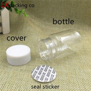 Пустая прозрачная пластиковая упаковка для бутылок, 30, 30, 50, 100, 200 мл, 30 шт.