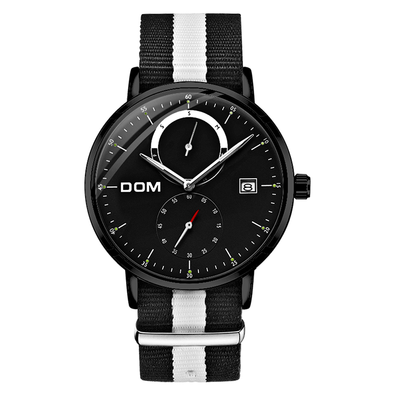 DOM Watches Men Top Brand Luxury Digital Quartz Clock Military Sport Wrist Watches Mens 2019 Relogios Masculino