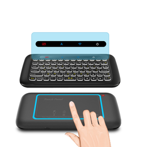 Image 4 - H20 Mini Wireless Keyboard Backlight Touchpad Air mouse IR Leaning Remote control For Andorid BOX Smart TV Windows PK H18 Plus