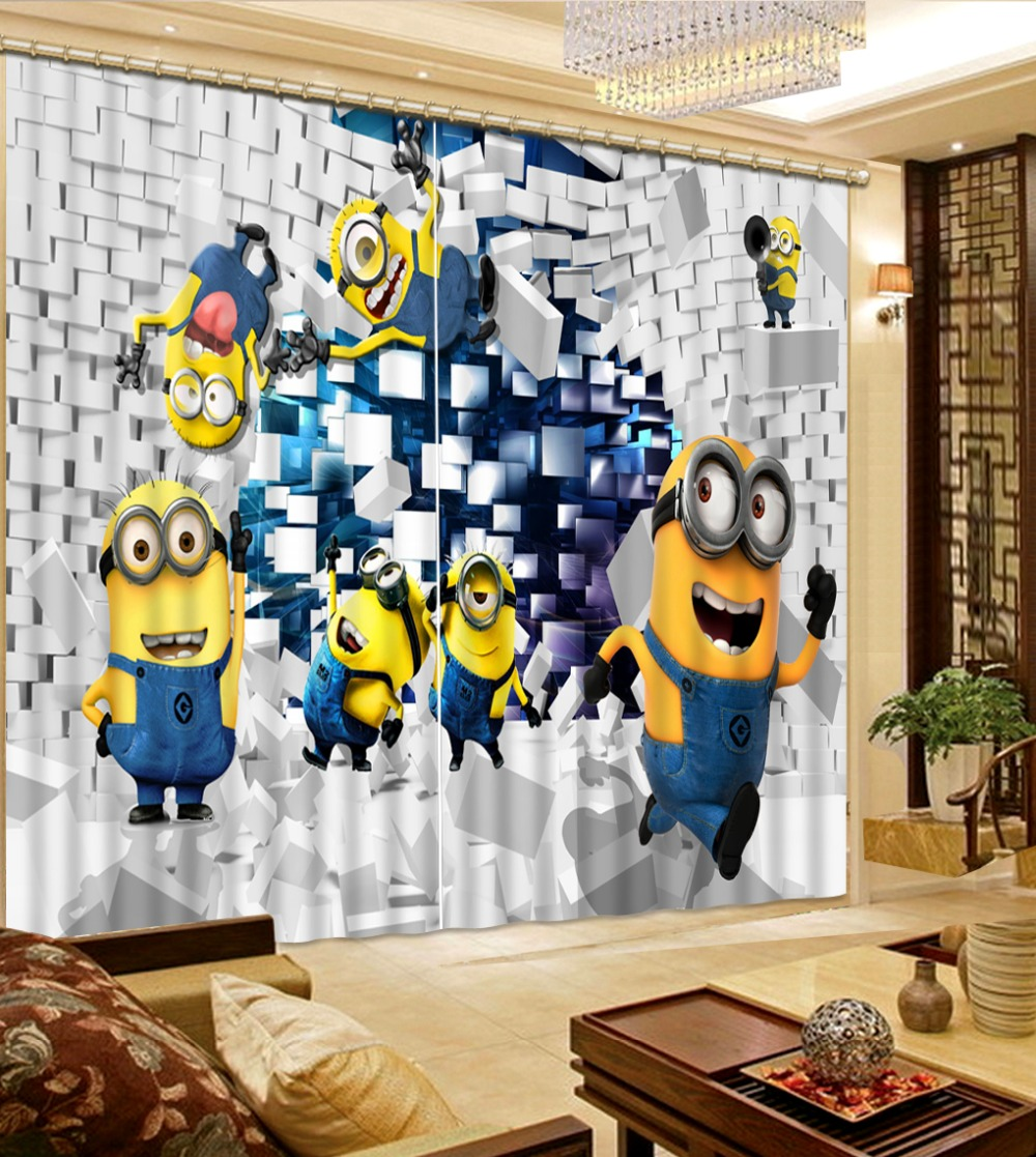 Luxury Blackout 3D Curtains For Living room Bedding room Office cartoon curtains Luxury Blackout 3D Curtains For Living room Bedding room Office cartoon curtains