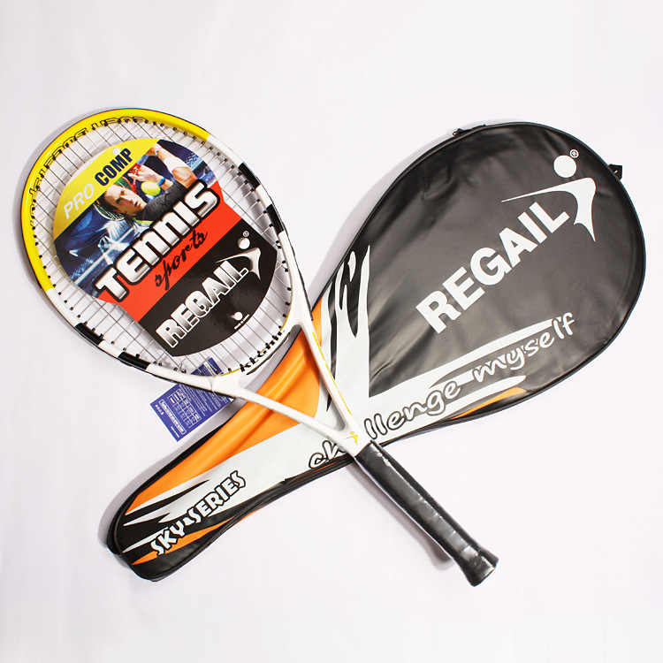 1pcs 68.5X27 cm juvenile training tennis racket carbon racket with beginner portable carry-on racket bag