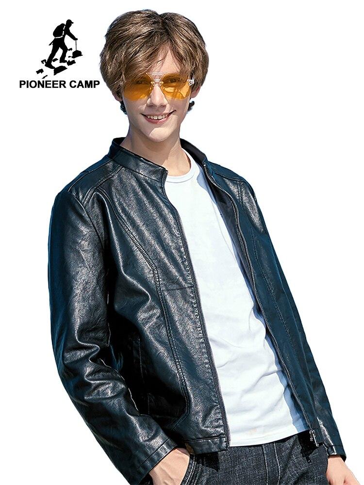 FGKKS Brand Men Jackets Bomber Winter 2019 Autumn Men s Warm Jacket Fur Collar Outwear Male