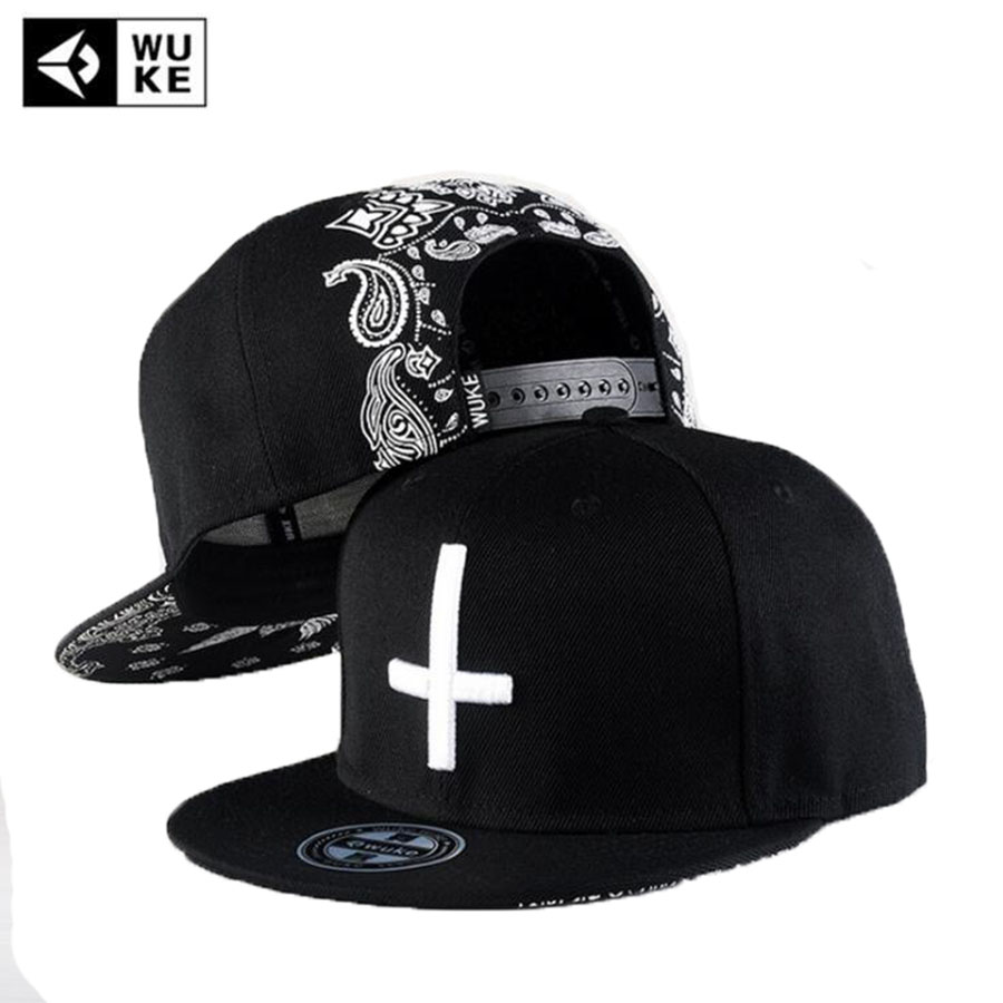 WuKe New Hip-hop Cap Dad Hat Baseball Caps Cap Flat Along Men 2017 Women Skateboard Snapback Gorras Casquette Bones 2016 new new embroidered hold onto your friends casquette polos baseball cap strapback black white pink for men women cap