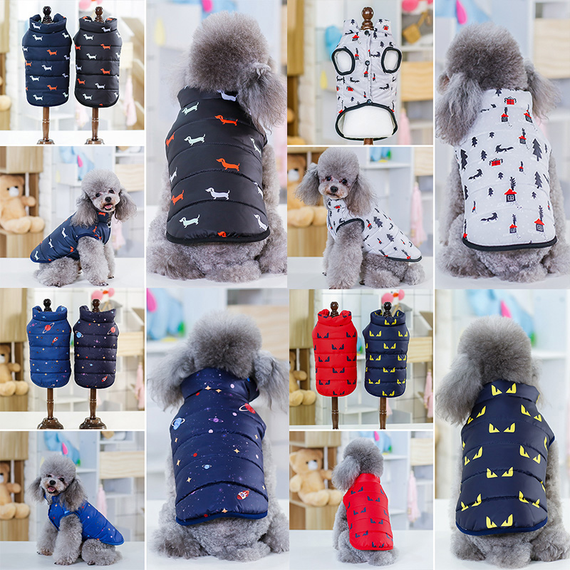 Best Sale Winter Pet Dog Clothes Warm Down Jacket Waterproof Coat S-xxl Hoodies For Chihuahua Small Medium Dogs Puppy