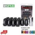 D1 Spec Auto Roda M12xP1.5 Nozes 20 pcs Com Um Bloqueio Para HONDA TOYOTA LEXUS MITSUBISHI TK-NU670-1.5-FS