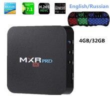 4GB RAM 32GB ROM MAX MXR PRO Android 7.1 Smart TV Box RK3328 Quad Core 2.4GHz WiFi VP9 H.265 UHD MXR PRO 4K Player
