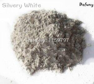 Image 5 - Poudre Super brillante or Mica blanc 50g, Pigment décoratif, poussière perlée pour savon, maquillage