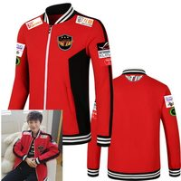STOCK 2017 Game LOL World Champion S7 Team SKT T1 Players Uniform Baseball Jacket Faker