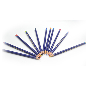 Image 4 - 12 pièces/lot dergone Inktense 12 crayons etain ensemble crayon Soluble pour peinture rotule