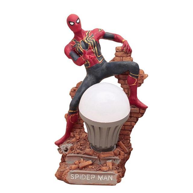 Figura POP LED iron-man figura de ação de Super-heróis Da Marvel-Figuras de Ação Brinquedo Capitão-América Infinito Guerra Brinquedo
