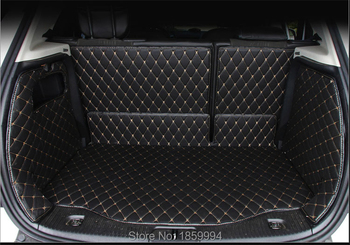 For OPEL  MOKKA VAUXHALL 2013-2017 rear tail car trunk mat durable boot carpets full coverage