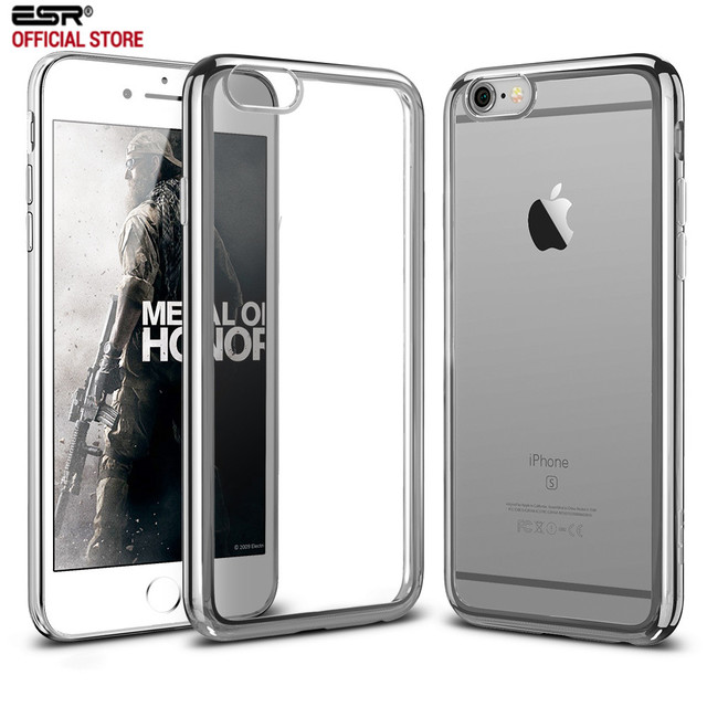 sale retailer 9e1fb 87010 US $4.82 45% OFF|Case for iphone 6s 6 Plus, ESR Twinkler Glossy Case Ultra  Slim Light Weight Cover Soft TPU Protective Cover for iPhone6 6s Plus-in ...