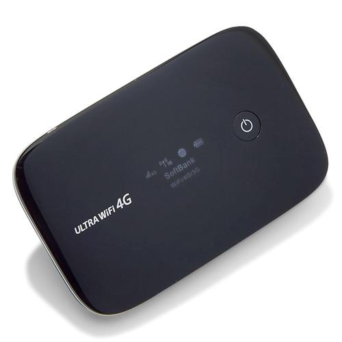 Débloqué huawei 102hw laisser 4g haut débit mobile dispositif wifi routeur pour softbank
