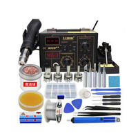 SAIKE 852D++ Electric Soldering Station Hot Air Gun 2 in 1 Welding Kit