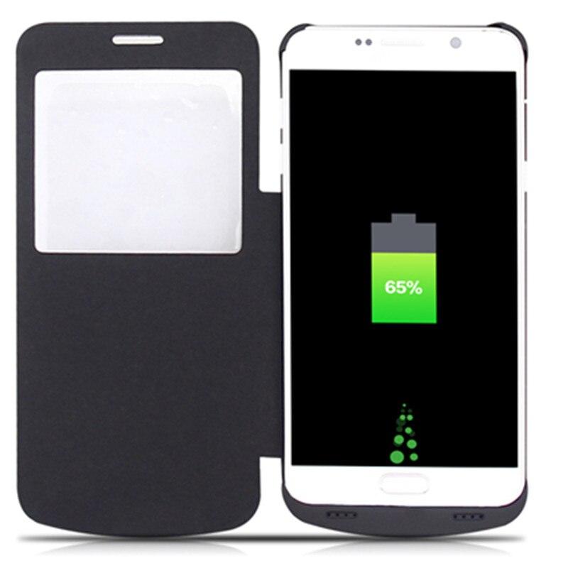 imágenes para GagaKing caja de batería para Samsung galaxy Note 5 con protección caja del teléfono de copia de seguridad cargador inalámbrico 4200 mah baterías de Polímero