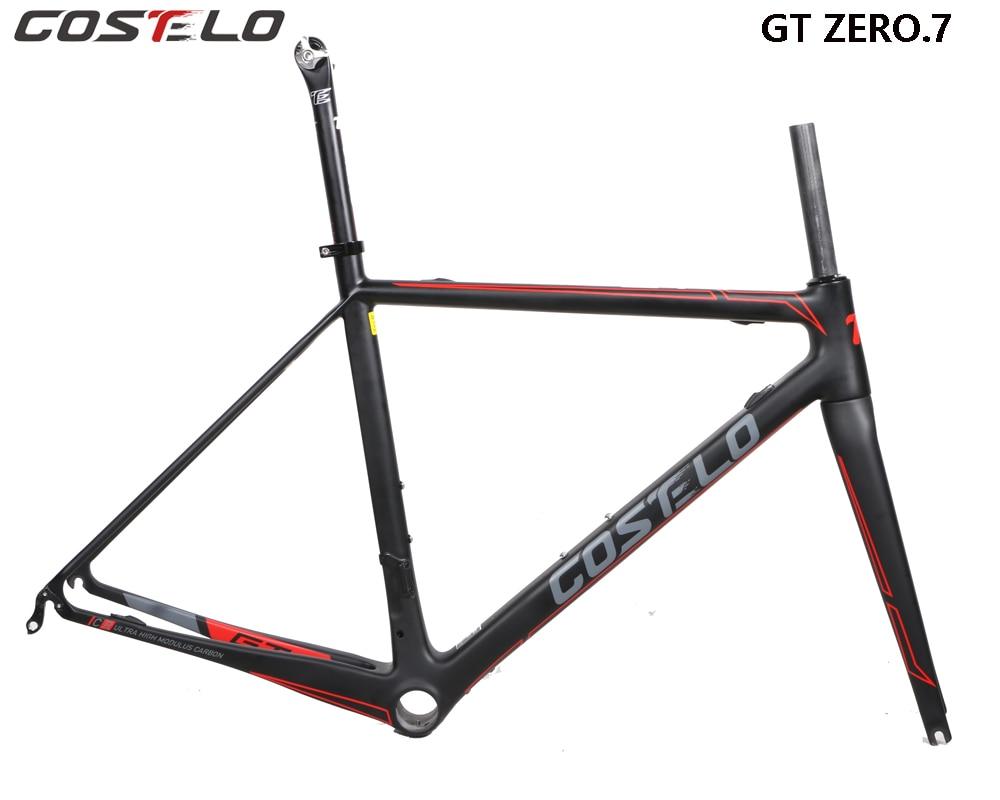 COSTELO GT ZERO 7 carbon road bike frame,fork headset clamp ...
