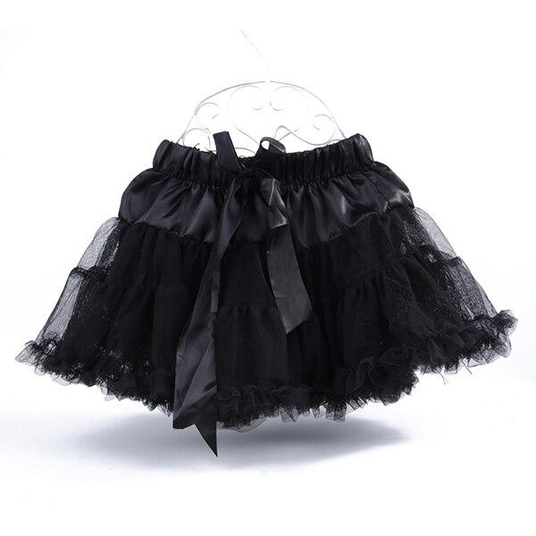 Multi-List-Pettiskirt-Bow-knot-Girls-Dance-Tutu-Skirt-Solid-Color-KB0061-4