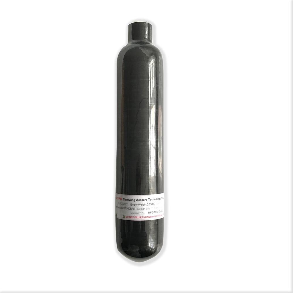 Fusil à air comprimé AC3050 2019 utilisation 0.5L fibre de carbone/PCP/réservoir de Paintball/cylindre pour cible de tir tactique Paintball/PCP Airgun