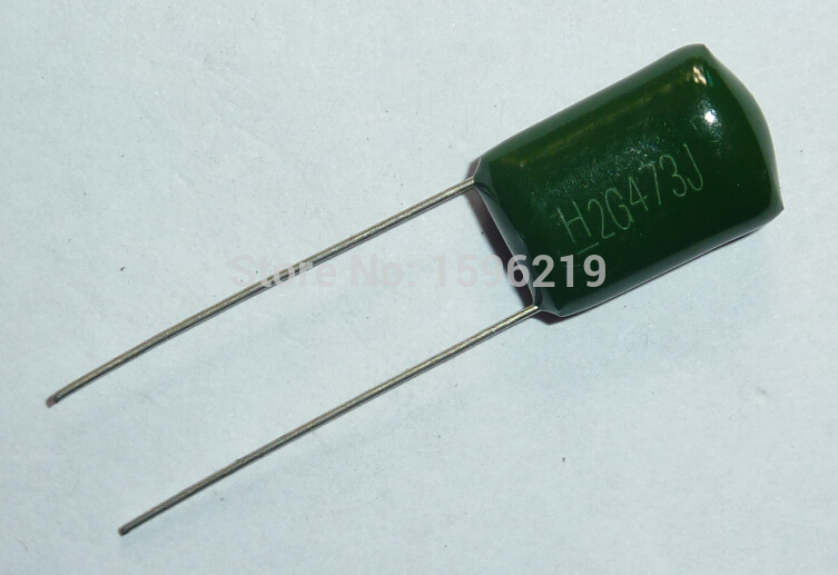 10cs Mylar Film Capacitor 400V 2G473J 0.047uF 47nF 2G473 5% Polyester Film Capacitor