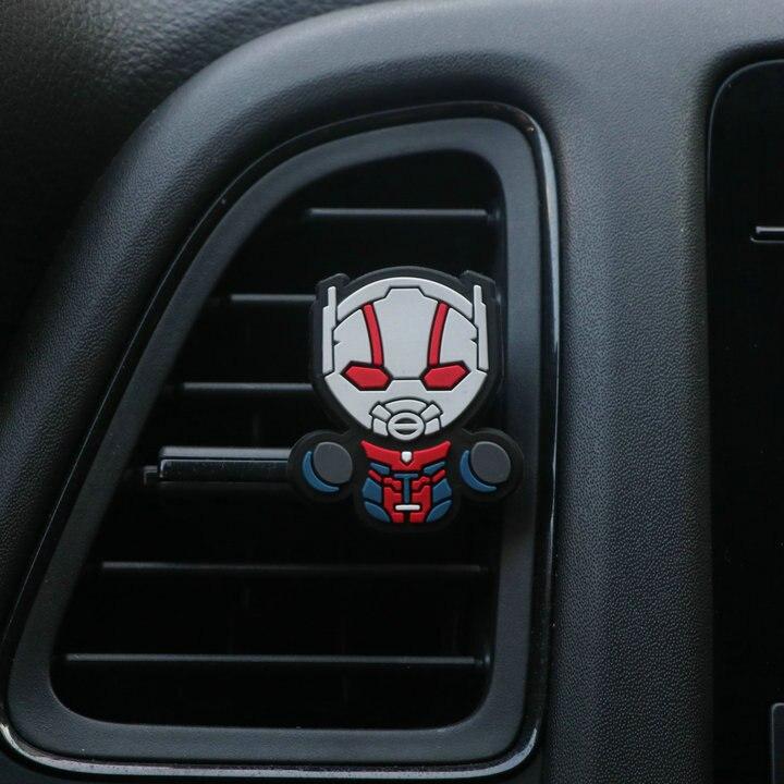 Освежитель воздуха с героями мультфильмов, автомобильный Стайлинг, духи, Мстители, Marvel, стиль для кондиционера, Вентиляционный Выход, Супермен, Бэтмен, модный, крутой - Название цвета: Mansquito